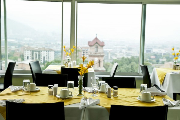 Restaurant with a view over Poblado