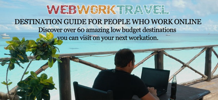 Download your free copy of the Webworktavel Destination Guide