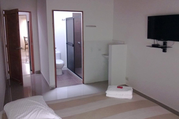 Clean and spacious private rooms