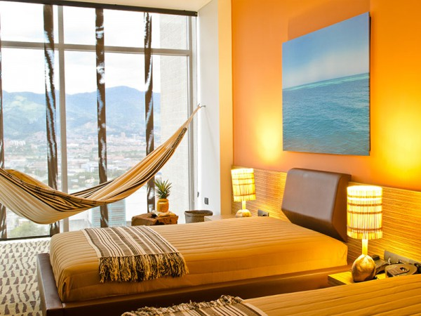 Rooms with a Colombian twist