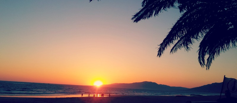 tarifa sunset